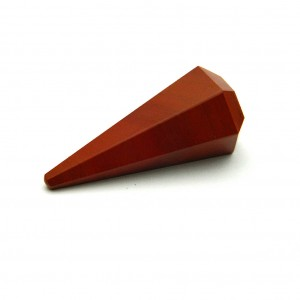 Natural Red Jasper Pendulum Point