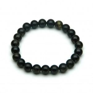 Natural Dark Green Tourmaline Beads Bracelet
