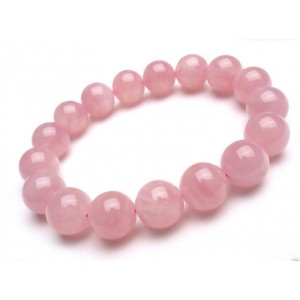 Natural Rose Quartz Gemstone Bracelet