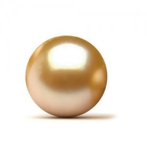 8.58 Carat Golden South Sea Pearl Gemstone