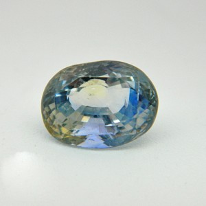 5.14 Carat  Natural Parti Colored Sapphire Gemstone