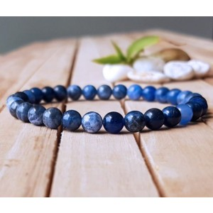 Natural Sodalite Gemstone Bracelet