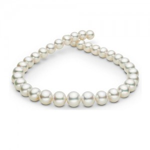 White South Sea Pearl String Necklace