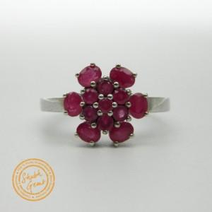 Ruby (Manik) Silver Ring