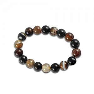 Sulemani Hakik (Black Agate) Stone Bracelet