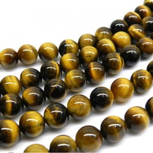 Natural Tiger Eye AAA Quality Gemstone Beads String