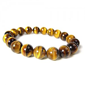 Natural Tiger Eye Gemstone Bracelet