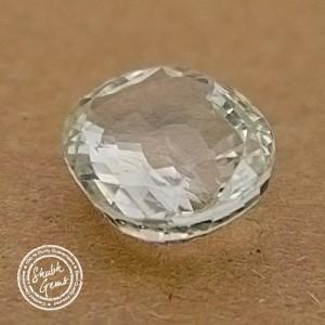7.1 Carat  Natural White Sapphire Gemstone