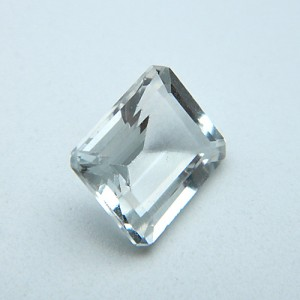 4.18 Carat  Natural White Topaz Gemstone