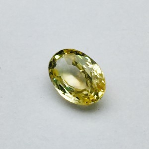 2.31 Carat/ 2.56 Ratti Natural Ceylon Yellow Sapphire (Pukhraj) Gemstone