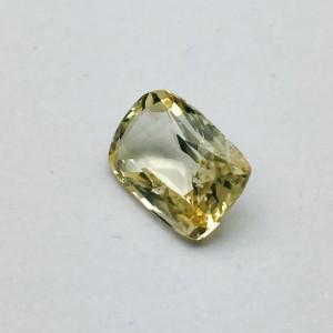 4.16 Carat/ 4.62 Ratti Natural Ceylon Yellow Sapphire (Pukhraj) Gemstone