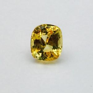 2.88 Carat/ 3.2 Ratti Natural Ceylon Yellow Sapphire (Pukhraj) Gemstone