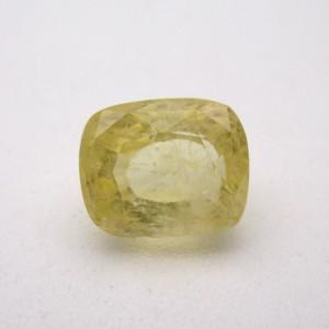 6.07 Carat/ 6.73 Ratti Natural Ceylon Yellow Sapphire (Pukhraj) Gemstone