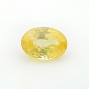 7.32 Carat  Natural Yellow Sapphire (Pukhraj) Gemstone