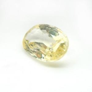 4.97 Carat  Natural Yellow Sapphire (Pukhraj) Gemstone