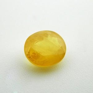 4.47 Carat  Natural Yellow Sapphire (Pukhraj) Gemstone