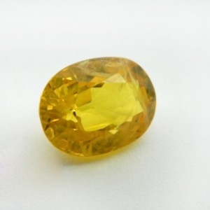 4.91 Carat  Natural Yellow Sapphire (Pukhraj) Gemstone