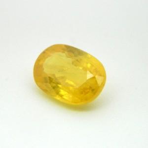 4.68 Carat  Natural Yellow Sapphire (Pukhraj) Gemstone