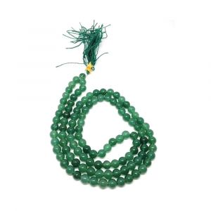 Best Quality Natural Green Aventurine Quartz Mala String