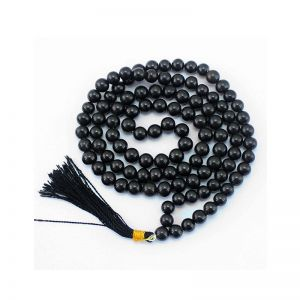 Best Quality Natural Black Obsidian Mala String