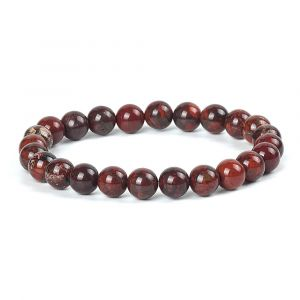 Natural Blood Stone Jasper Gemstone Bracelet