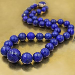 Natural Lapis Lazuli Beads Necklace