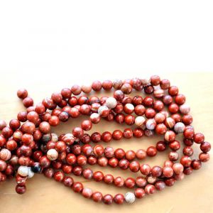 Natural Fire Agate AAA Quality Gemstone Beads String