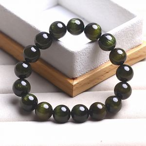 Natural green tourmaline beads bracelets price