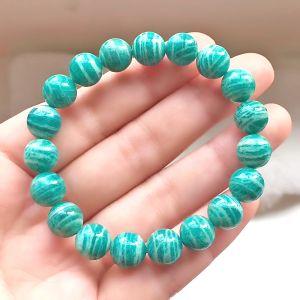 Natural Amazonite Beads Bracelet