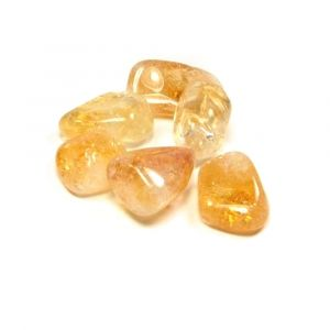 Natural Citrine Tumbled Healing Crystals