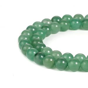 Natural Green Aventurine AAA Quality Gemstone Beads String