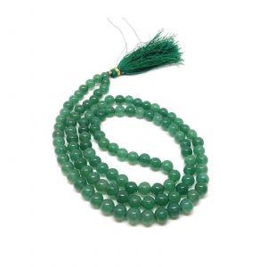 Natural Green Hakik 108 Beads Japa Mala Rosary