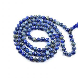 Natural Lapis Lazuli 108 Beads Japa Mala Rosary