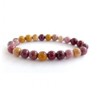 Natural Mookaite Crystal Bracelet