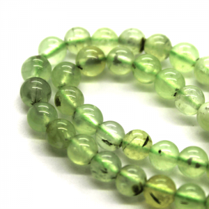 Natural Prehnite AAA Quality Gemstone Beads String