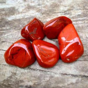 Natural Red Jasper Tumbled Healing Crystals (5 Pcs)