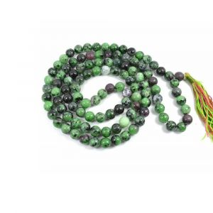Natural Ruby Zoisite Beads