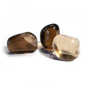 Natural Smoky quartz Tumbled Healing Crystals