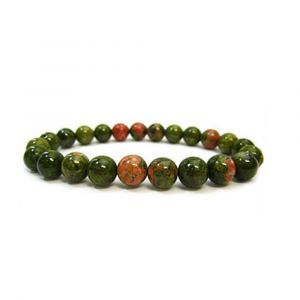 Natural Unakit Gemstone Bracelet