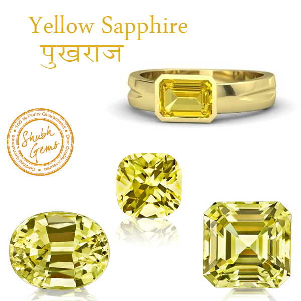 Ceylon Sri Lanka Yellow Sapphire Pukhraj Stone Price in India