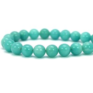 Natural Amazonite Gemstone Beads String AAA Quality