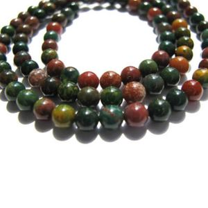 Natural Bloodstone AAA Quality Gemstone Beads String