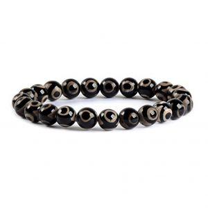 Natural Evil Eye Beads Bracelet