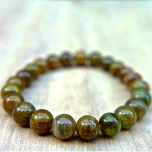 Natural Green Tourmaline Beads Bracelet