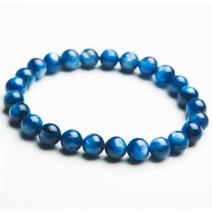 Natural Kyanite Beads Bracelet