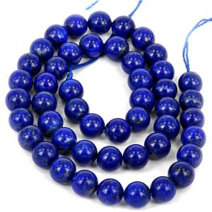 Natural Lapis lazuli AAA Quality Gemstone Beads String