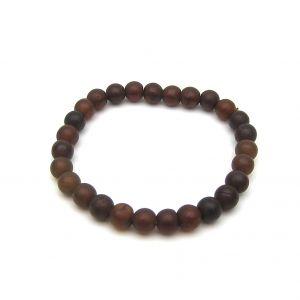 Natural Amber Beads Bracelet