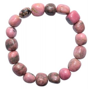 Natural Rhodonite Crystal Bracelet