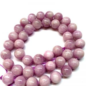 Natural Pink Kunzite AAA Quality Gemstone Beads String