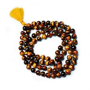 108 Beads Natural Tiger Eye Jap Mala String